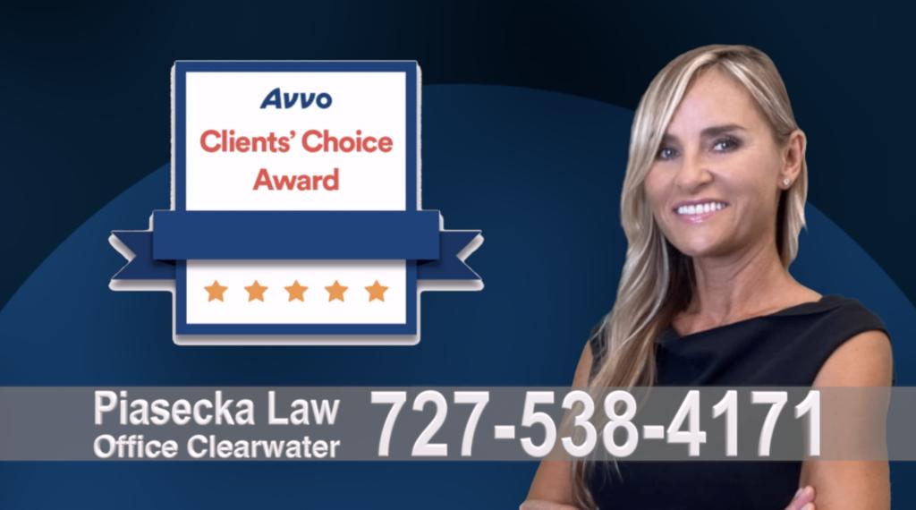 Divorce Attorney Clearwater, Avvo, Clients, Choice Award, Reviews, Opinie, Agnieszka, Aga, Piasecka, Polish, Lawyer, Attorney, Opinie klientów, Best, Najlepszy, Polskojęzyczny, Prawnik, Polski, Adwokat, Florida, Floryda, USA