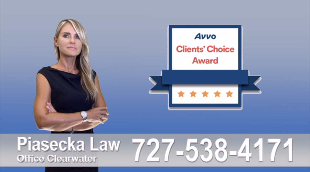 Divorce Attorney Clearwater, Polish, attorney, polish, lawyer, clients reviews, clients' choice avvo award